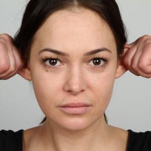 Selbstmassage Ohren